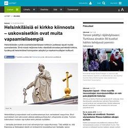 Helsinkiläisiä ei kirkko kiinnosta – uskovaisetkin ovat muita vapaamielisempiä
