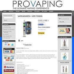 VAPEADORES > VER TODOS COOL FIRE I PROVAPING - Cigarros Electrónicos