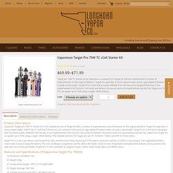 Vaporesso Target Pro 75W TC cCell Starter Kit - Longhorn Vapor LLC