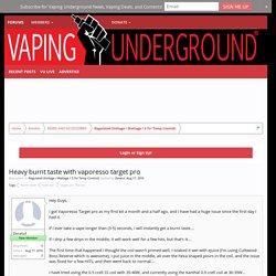 Vaping Underground Forums - An Ecig and Vaping Forum