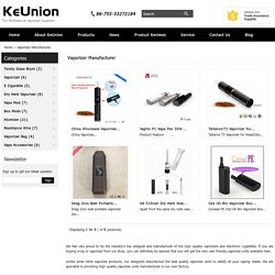 Vaporizer Manufacturer and Suppliers at Best Prices