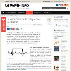 La Variabilité de la Fréquence Cardiaque