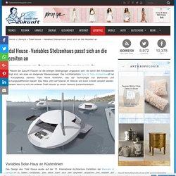 Tidal House – Variables Stelzenhaus passt sich an die Gezeiten an