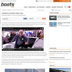 Varianta 18 video: first look - boats.com UK