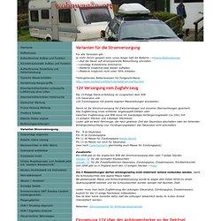 Varianten Stromversorgung - wohnwagen-ottos jimdo page!
