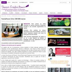 VariaPower lève 500 000 euros