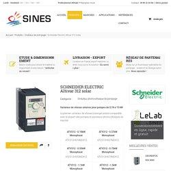 Altivar 312 Solar - Variateur de vitesse solaires Schneider Electric pour pompes