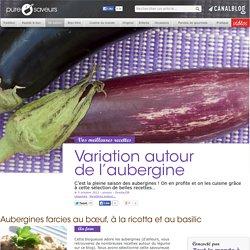 Variation autour de l'aubergine - De saison