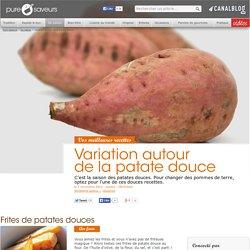 Variation autour de la patate douce - De saison