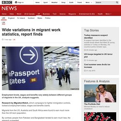 Wide variations in migrant work statistics, report finds