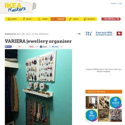 VARIERA jewellery organiser - IKEA Hackers
