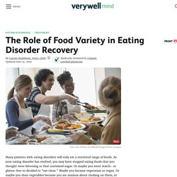 Food Variety in Eating Disorder Recovery