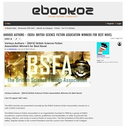 Various Authors - (BSFA) British Science Fiction Association Winners for Best Novel - eBookoz