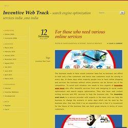 Inventive Web Track