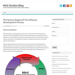 The Various Stages Of The Software Development Process