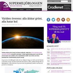 Världen överens: alla älskar grönt, alla hatar kol