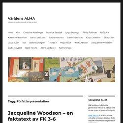Författarpresentation – Världens ALMA