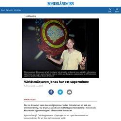 Världsmästaren Jonas har ett superminne - Bohusläningen