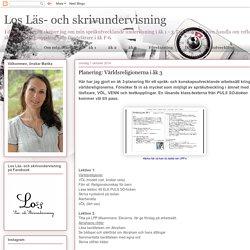 Läs- och skrivundervisning : Planering: Världsreligionerna i åk 3
