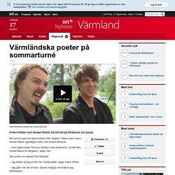 Värmländska poeter på sommarturné