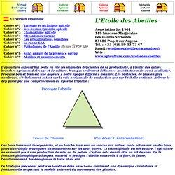L'Etoile des Abeiles - Cahier n°1 er 2 - Varroase et technique apicole - Géo-cosmo syntonie apicole
