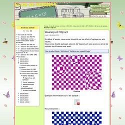Vasarely et l'Op'art - Webécoles - Vienne 2