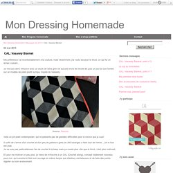 CAL: Vasarely Blanket - Mon Dressing Homemade