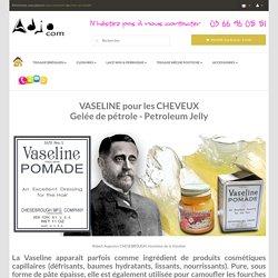 VASELINE pour Cheveux - Adjocom