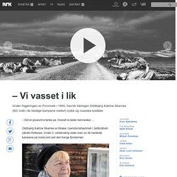 – Vi vasset i lik - NRK Multimedia - Barn i krig
