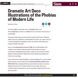 John Vassos: Art Deco visions of the phobias of modern life