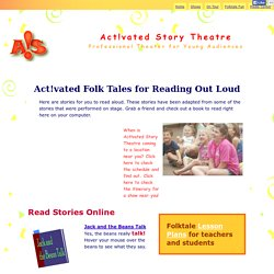 Act!vated folk tales for reading out loud