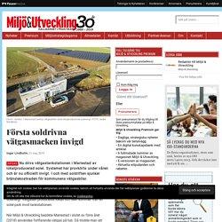 Första soldrivna vätgasmacken invigd - Bränslecell, Mariestad, Vätgas, Vätgastankstation