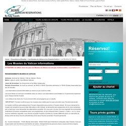 Les Musées du Vatican informations - Billets musées Rome