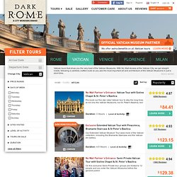 Private Sistine Chapel Tours & VIP Vatican Tours