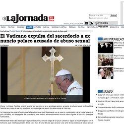 El Vaticano expulsa del sacerdocio a ex nuncio polaco acusado de abuso sexual