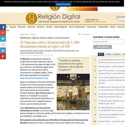 El Vaticano sube a Internet más de 1.100 documentos desde el siglo I al XX