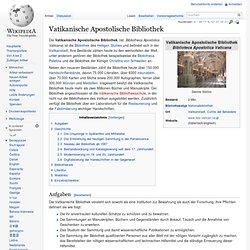 Vatikanische Apostolische Bibliothek