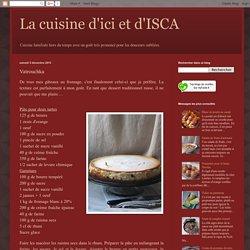 La cuisine d'ici et d'ISCA: Vatrouchka
