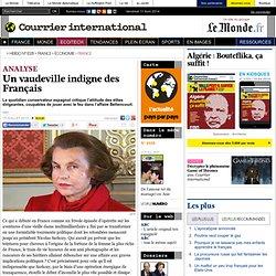 Un vaudeville indigne des Français