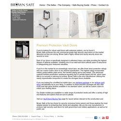 Premium Protection Vault Doors