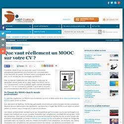 Que vaut réellement un MOOC sur votre CV