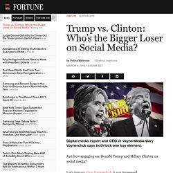 Gary Vaynerchuk Critiques Donald Trump, Hillary Clinton Social Media