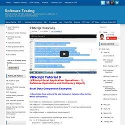 VBScript Tutorial 9