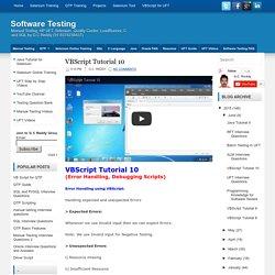 VBScript Tutorial 10