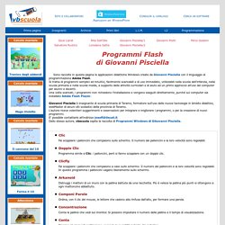Vbscuola - Giochi in flash