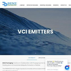 VCI Emitters - BENZ Packaging
