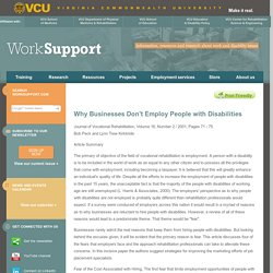 VCU WorkSupport