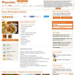 Veau Marengo maison : Recette de Veau Marengo maison - Marmiton