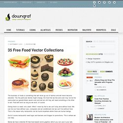 35 Free Food Vector Collections | Downgraf.com