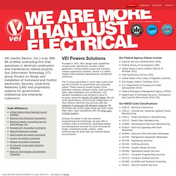 Vector Electric Inc. | Company